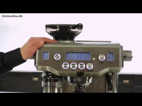 Sage The Oracle (BES980) espressomaskine test