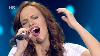 "Stefany Žužić: ""Caruso"" - The Voice of Croatia - Season2 - Blind Auditions2"