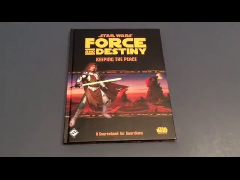 Star Wars: Force and Destiny: Keeping the Peace Review