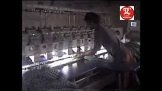 Multi Needle Machine Embroidery on  Cotton Scarf--- Video No.2 Thumbnail