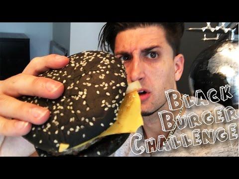 BLACK BURGER CHALLENGE!