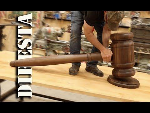 Download DiResta GIANT Judge's Gavel