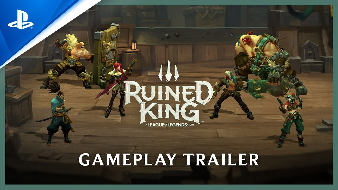 Ruined King: A League of Legends Story - The Game Awards 2020: Gameplay Reveal Trailer