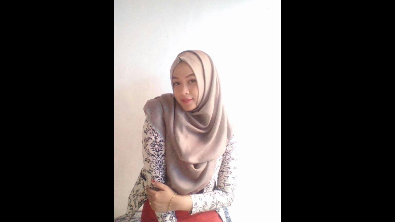 Tutorial Hijab Pashmina Untuk Kerja By Sari Farliniawan YouTube
