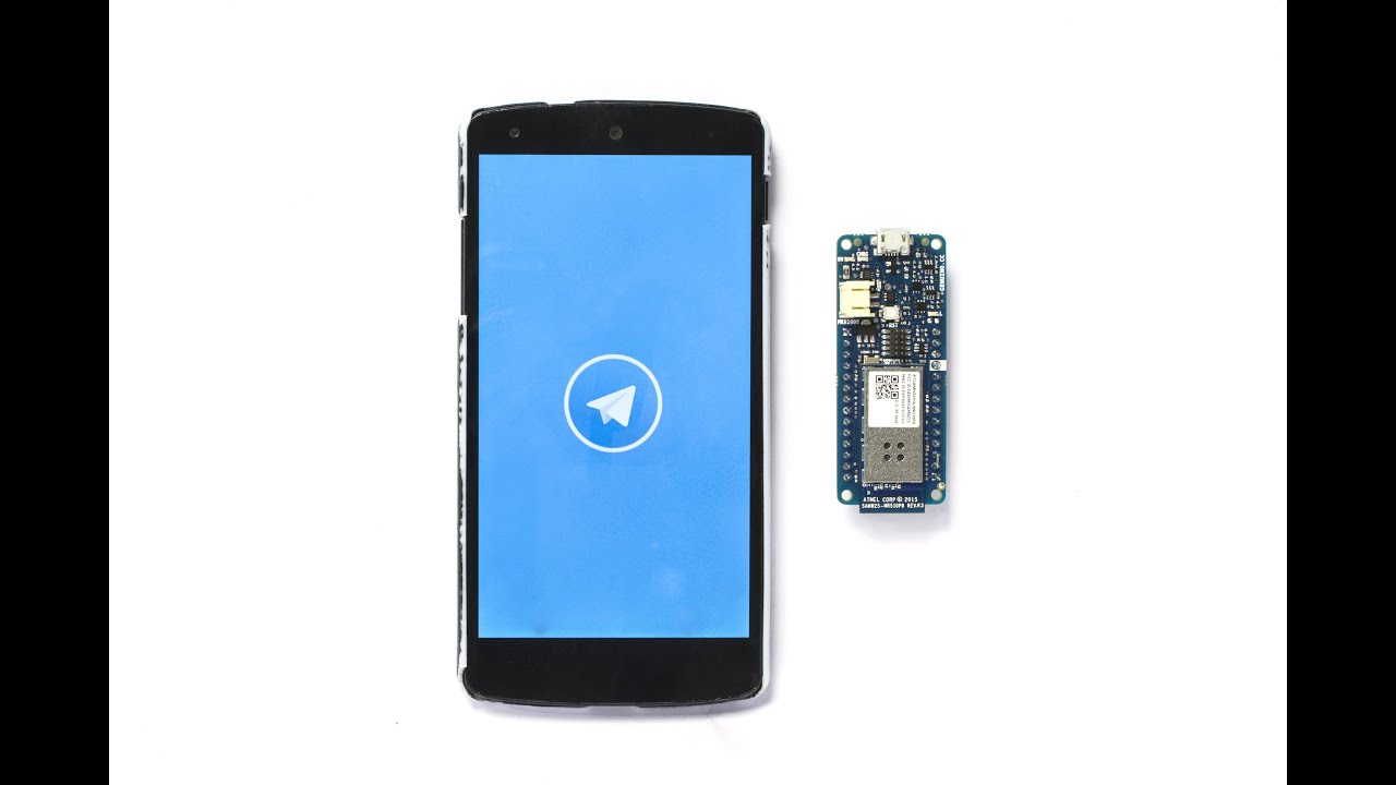 Telegram Bot Library -Use Arduino for Projects