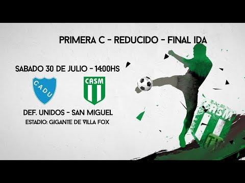 SAN MIGUEL TV - REDUCIDO - FINAL Vuelta - Def. Unidos vs San Miguel #LoVeoXSanMiguelTV