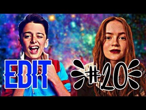▶ Edit #20 || Sadie Sink and Noah Schnapp ♥.
