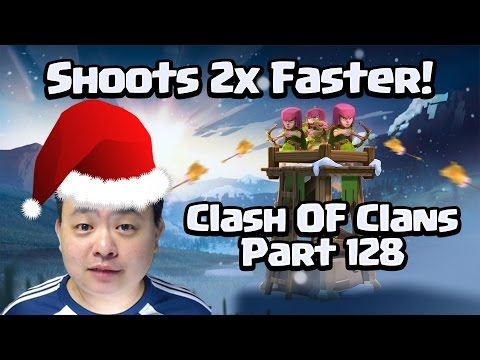 Shoot Twice as fast Archer Tower - Clash of Clans 128