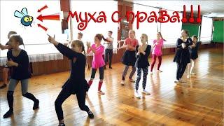Муха справа интересный детский танец