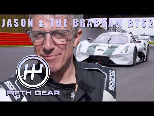 The Brabham BT62 - Jason's exclusive track day | Fifth Gear