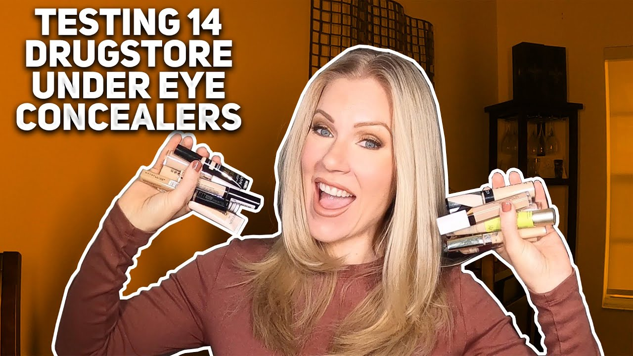 Testing 14 Drugstore Concealers for Women over 40 | Best Drugstore Concealers for Mature Skin
