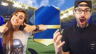 WE PACKED TWO INSANE TOTS CARDS! FIFA 17 Pack Opening!!
