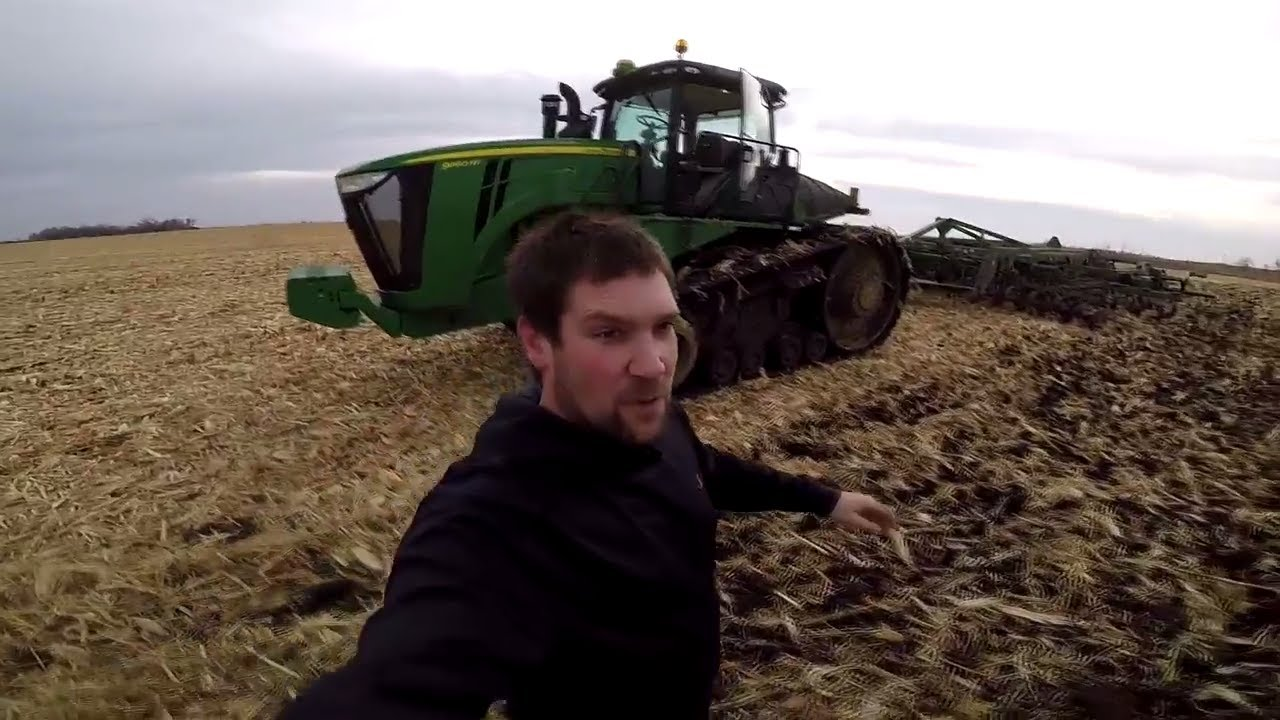 Running Our John Deere 2730 Ripper With 9560rt Youtube