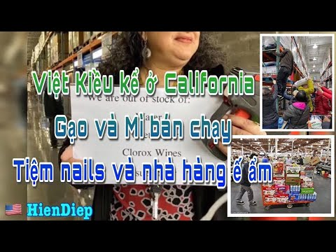Việt Kiều kể ở California Gạo và Mì bán chạy - Tiệm nails ế ẩm