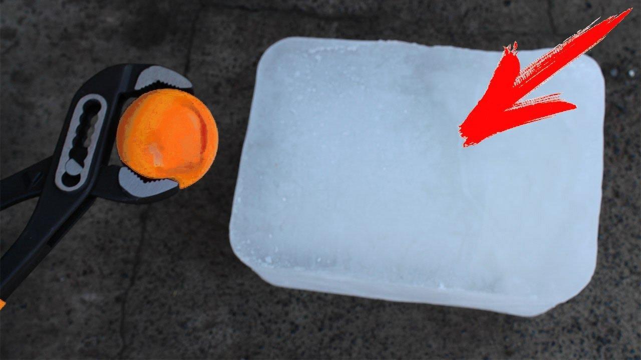 Red Hot Steel Ball (RHSB) vs ICE