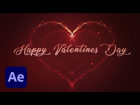 Download How To Create A Valentine S Particles Heart In Adobe After