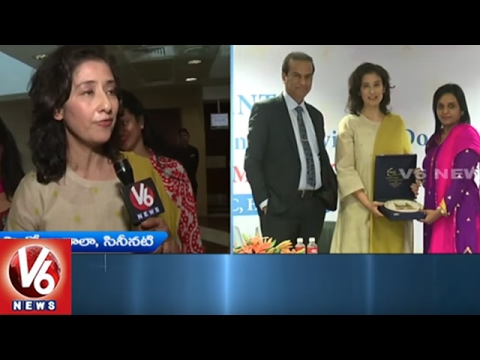 World Cancer Day | Actress Manisha Koirala Participates In Program | Hyderabad | V6 News
