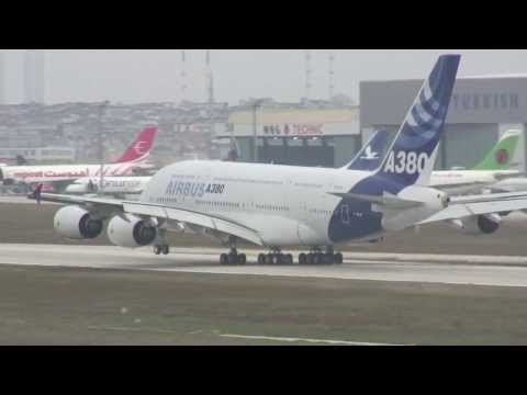 Istanbul Airport HD awesome action Tu154 A380 A330 DC-9 777 2007  - PART 2 DVD Preview