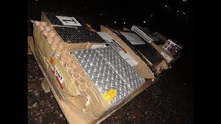 2000€ Polenböller Palette anzünden | Silvester Spezial | TheOftlerer