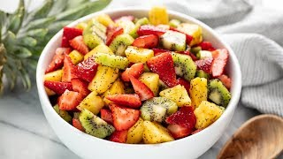 how to prepare fruit salad