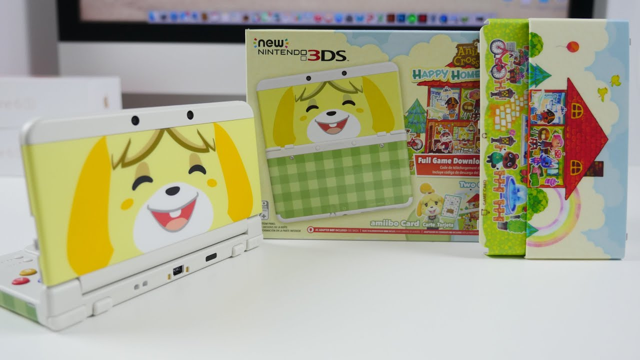 NEW 3DS Animal Crossing Home Designer UNBOXING