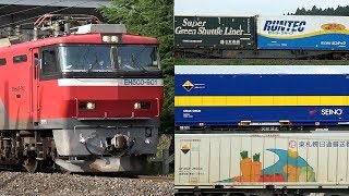 【ENG SUB】JR貨物/JR東日本 東北本線貨物列車と臨時回送列車 たくさん撮影・32本 Japanese Freight Train