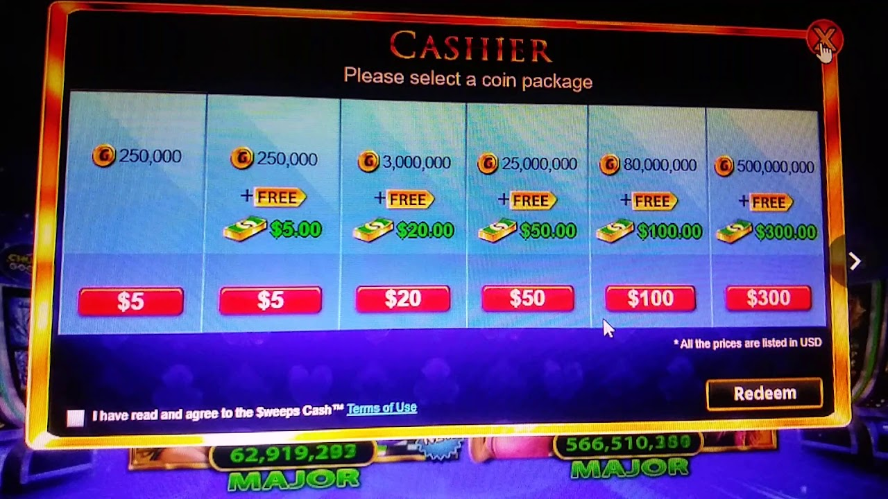 Chumba Casino Payout