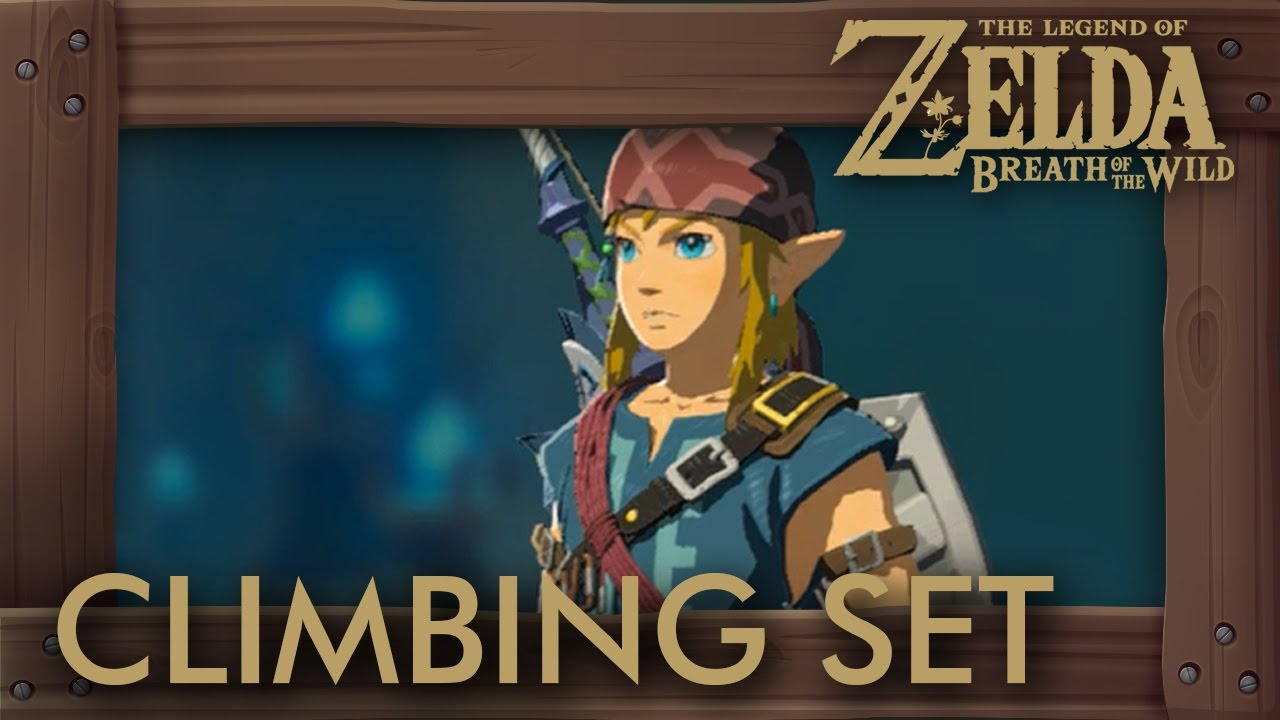 Kletterausrüstung Breath Of The Wild : Zelda breath of the wild climbing set location fast