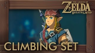 Zelda Breath of the Wild - Climbing Set Location (Fast Climbing Armor)