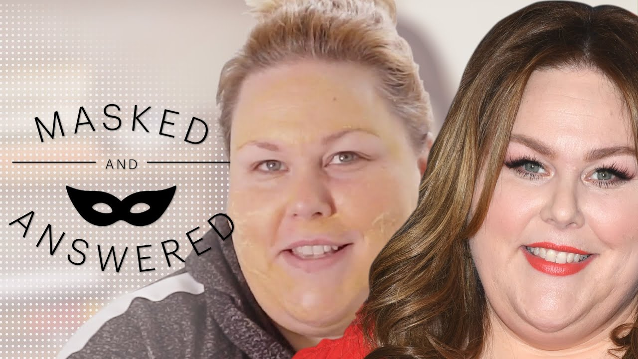 Chrissy Metz Can't Help But Sing About Her Skincare Secrets | Masked And Answered | Marie Claire