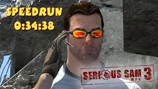 Serious Sam 3: BFE - SpeedRun - 0:34:38