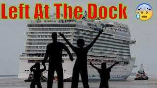 Cruise ship leaves family at Port