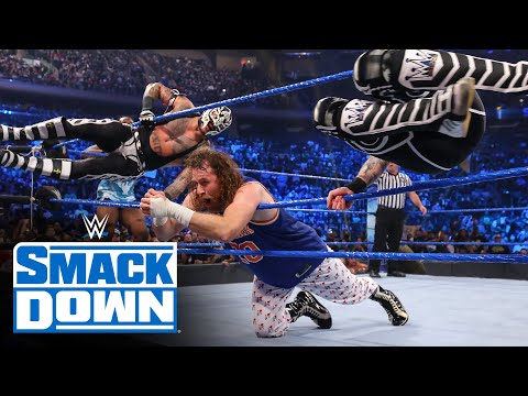 The NBA's Atlanta Hawks' Trae Young affects the Ten-Man Tag Team Match: SmackDown, Sept. 10, 2021