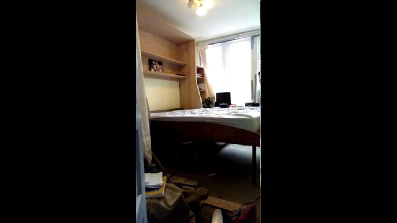 My Diy Folding Quot Hidden Majestic Queen Quot Murphy Bed And Desk