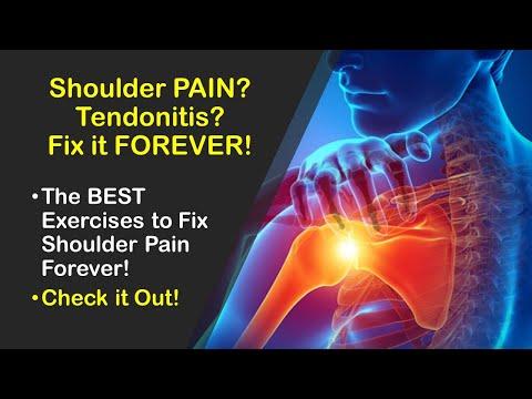 Fix Shoulder Tendonitis Forever