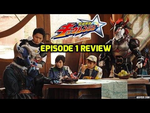 Uchuu Sentai Kyuranger Episode 1 Review: The Super Stars of Space
