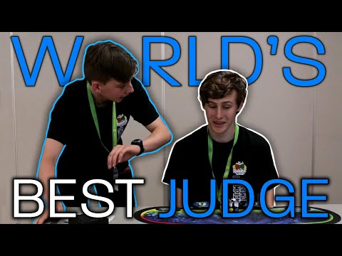 "WORLDS ""BEST"" RUBIK'S CUBE JUDGE! (Parody)"