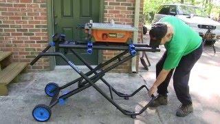 Delta Heavy Duty Portable Miter Saw Stand