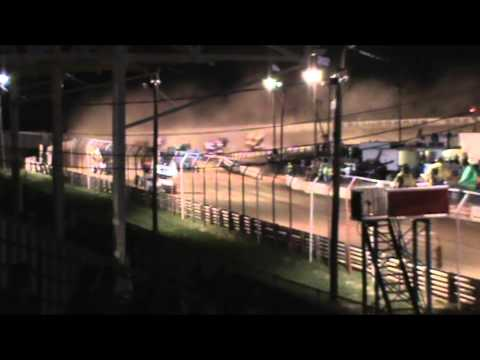Selinsgrove Speedway 360 Sprint Car Highlights 4-18-15