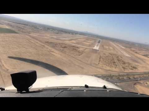 Landing in Phoenix/Mesa Gateway