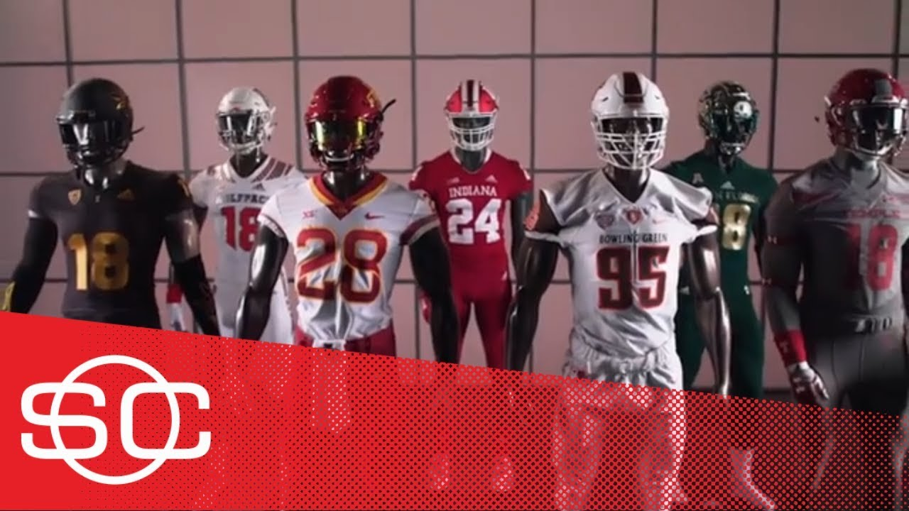 buy popular 7d930 3a267 Gear Up: 2018 Week 2 football uniforms: Arizona State, Iowa State, Indiana,  USF| SportsCenter | ESPN