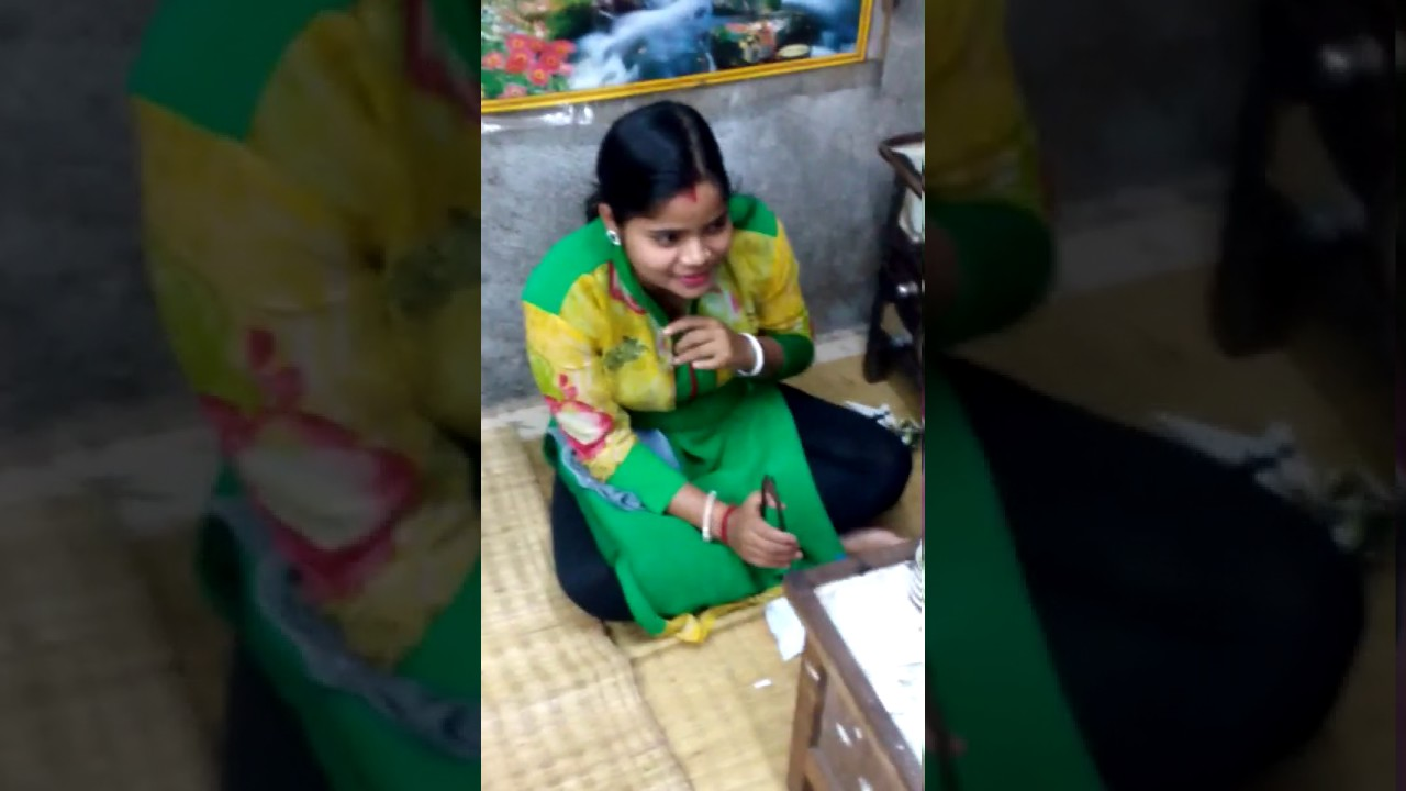 Sexy Boudi  Jewellery Job - Youtube-8340