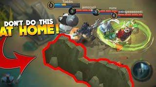 Trolling Players With Grock Wall Mobile Legends New Hero Gameplay