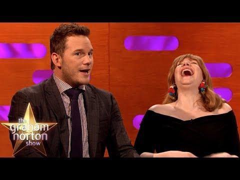 Chris Pratt Swam In Pee On The Jurassic World  Set | The Graham Norton Show