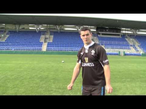 Guinness Kicking Johnny Sexton
