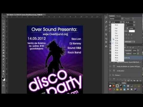 Crear un Flyer para evento Photoshop CS6 by Yanko0