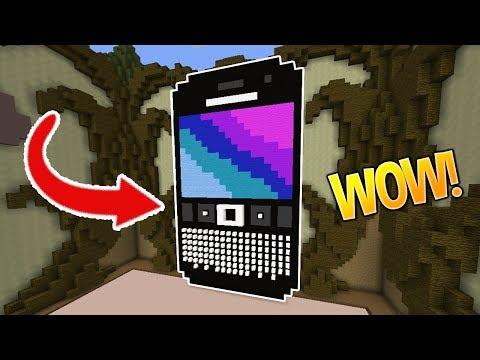 NEW IPHONE 8?! (Minecraft Build Battle)