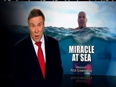 """60 MINUTES """"Miracle At Sea"""" Tony Eltherington -  PART 1"""
