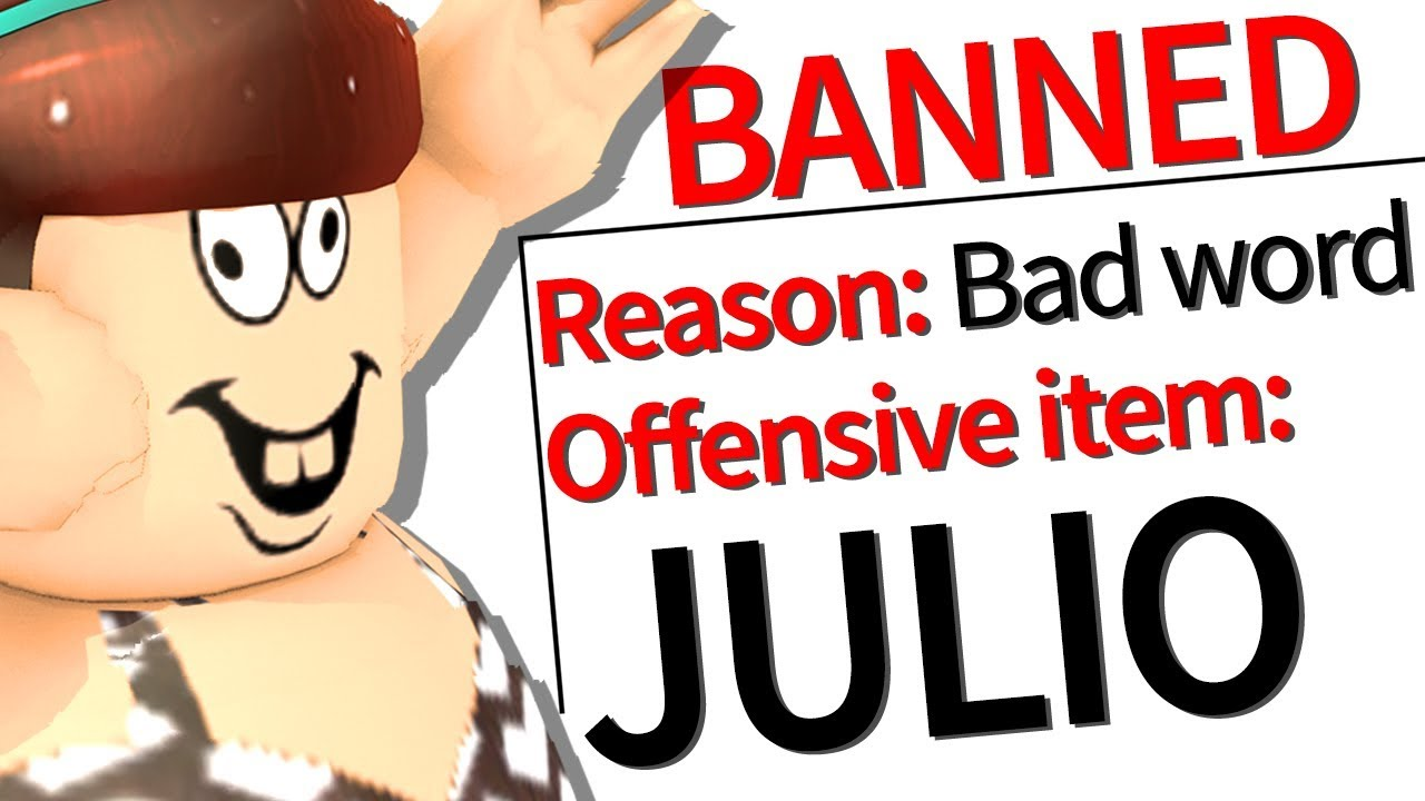 roblox banned the name