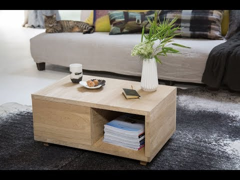 Comment Fabriquer Une Table Basse Magic By Bosch Bricolage